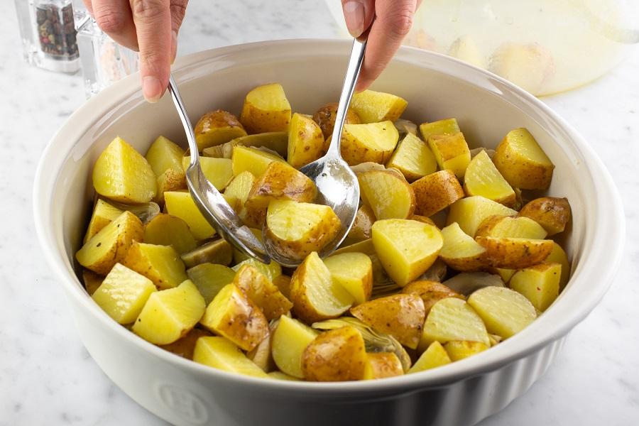 aggiungere le patate