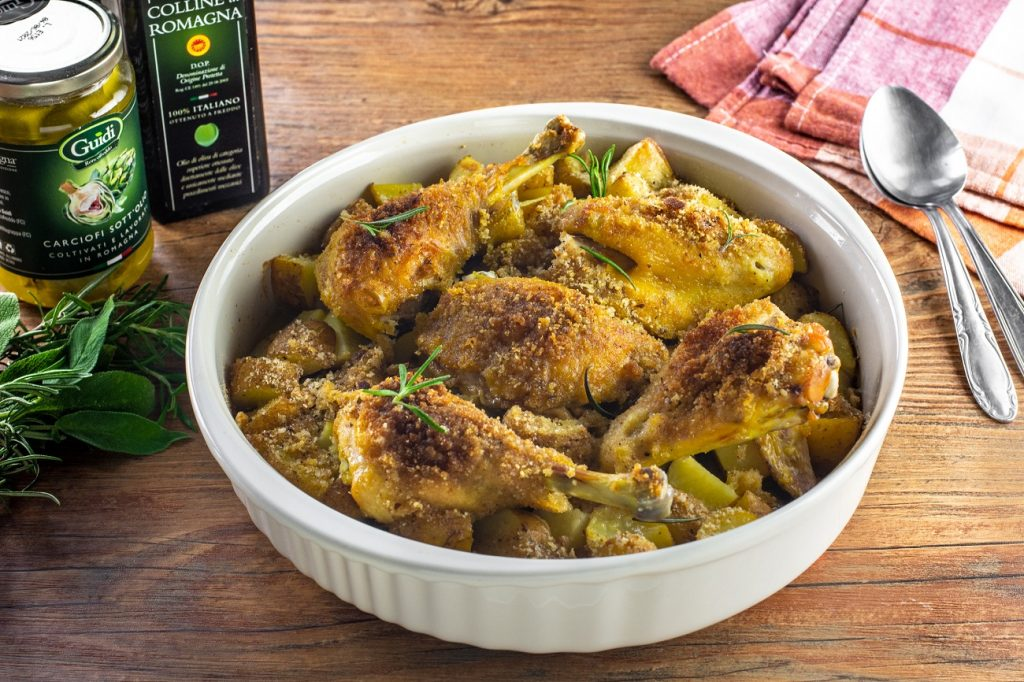 pollo della domenica ricetta gratinato