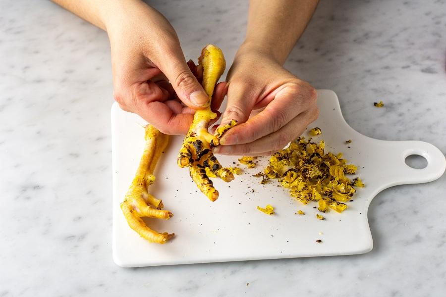 cucinare il risotto con le creste