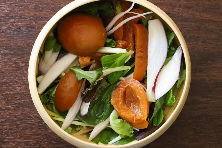 insalata di albicocche