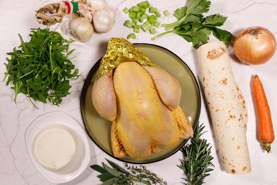 piadina con pollo