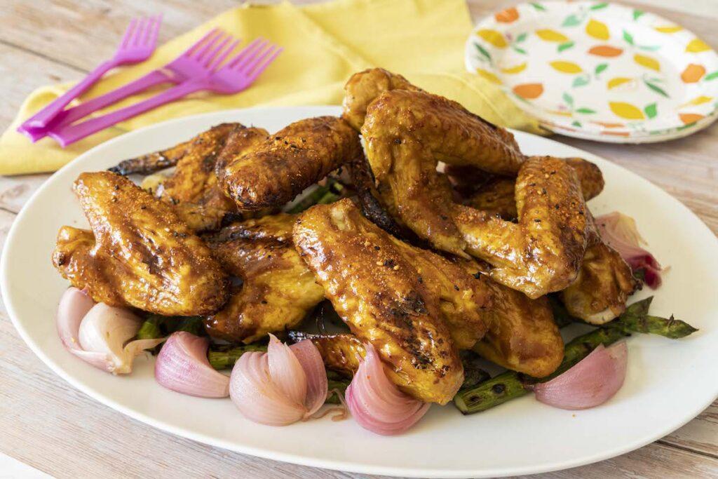 alette di pollo in saor