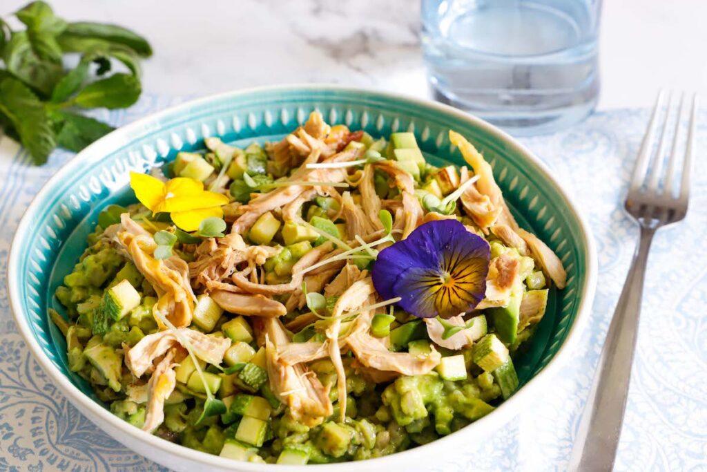 ricetta insalata di pollo