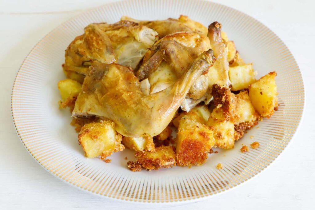 galletto-al-forno-con-patate-sabbiate