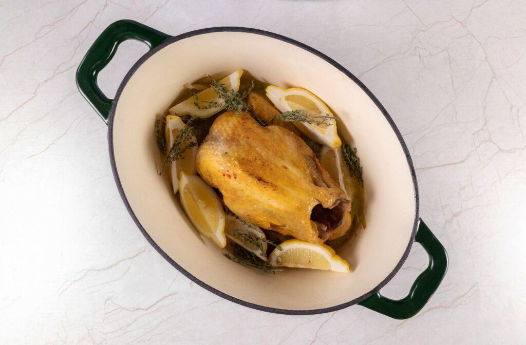 faraona-al-forno-al-limone